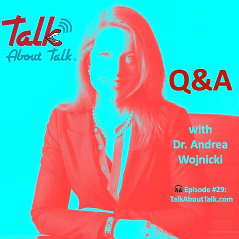 #29 Q&A with Dr. Andrea Wojnicki