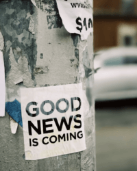 Talk About … GOOD news and BAD news